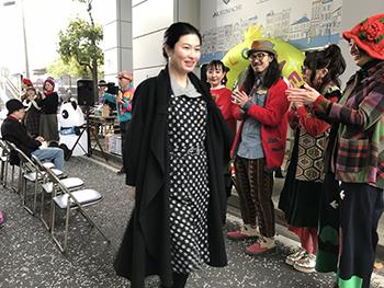 ストリートファッションショーwith 石川町駅前青空マーケット