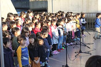 小学生や演奏団体が参加するコンサート