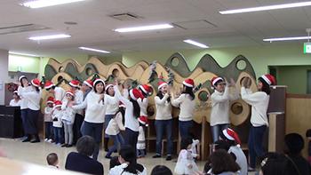 クリスマスミニコンサートinにこりんく