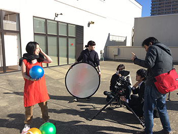 Vol.23『Necktie』(監督:七里圭)撮影風景